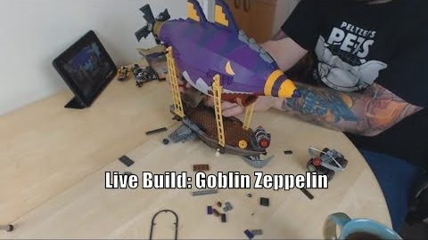 Live Build: Mega Bloks - World of Warcraft Goblin Zepplin