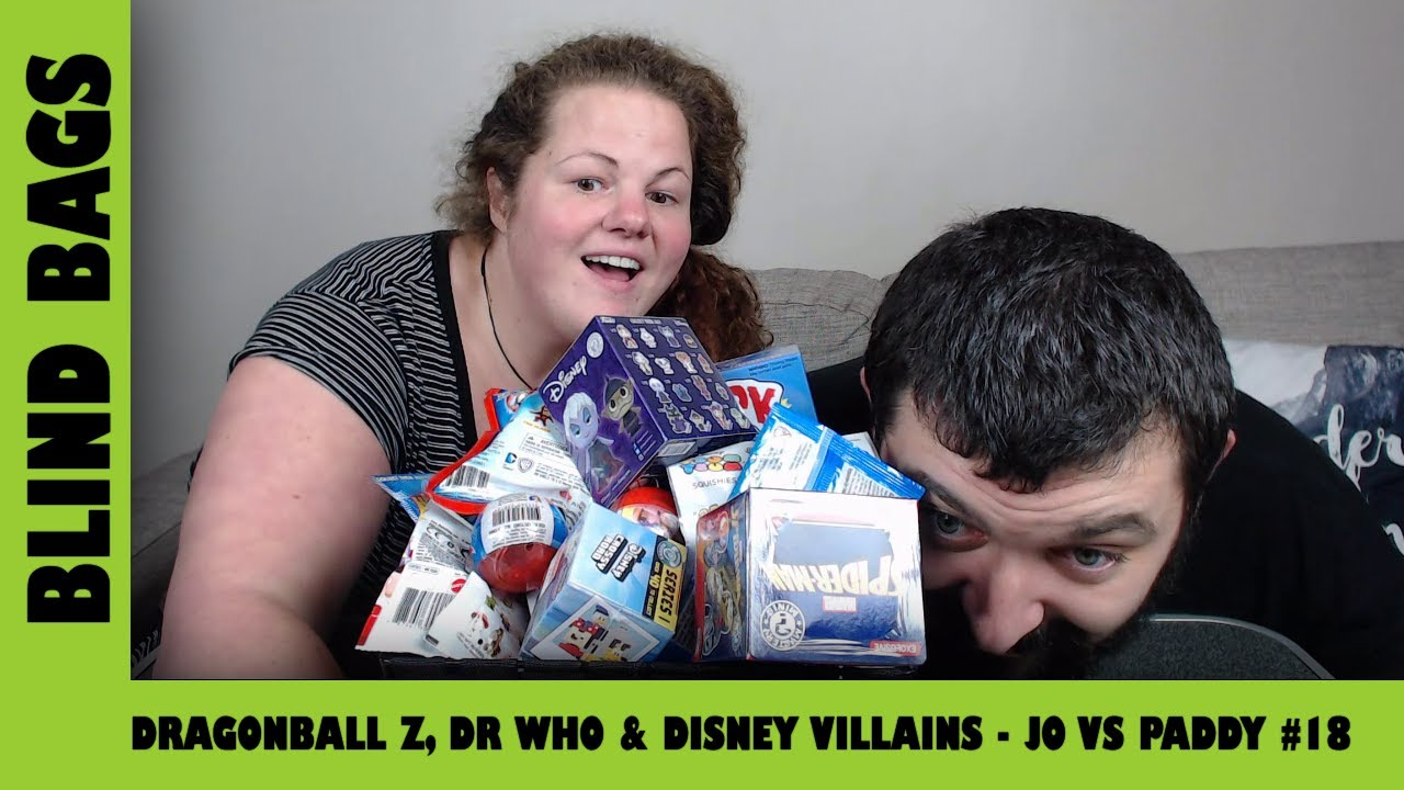 DragonBall Z, Dr Who & Disney Villains - Mystery Blind Bags #18 | Adults Like Toys Too