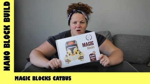 BootLego: Magic Blocks Studio Ghibli CatBus Build | Nano-Brick Build | Adults Like Toys Too
