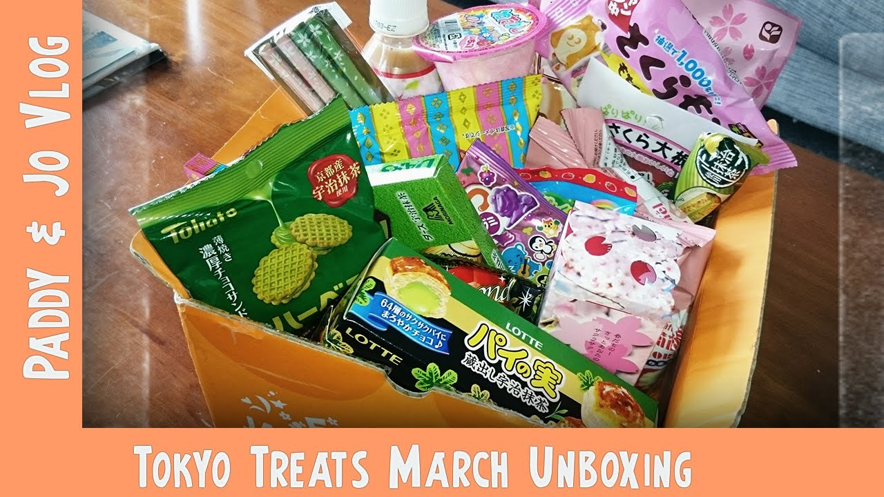 March TokyoTreat UNBOXING | Post Holiday Munchies | Vlog