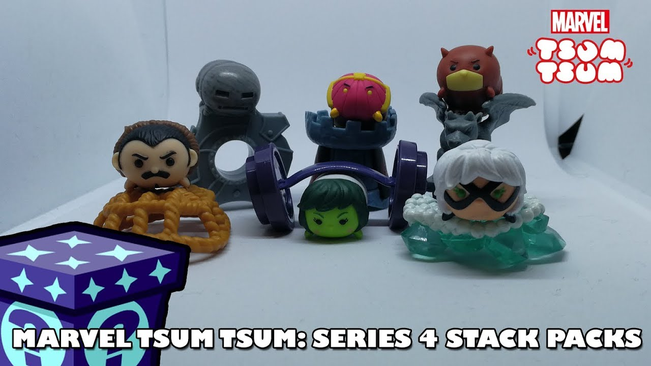 Marvel Tsum Tsum Series 4 Stack Packs | Adults Like Toys Too