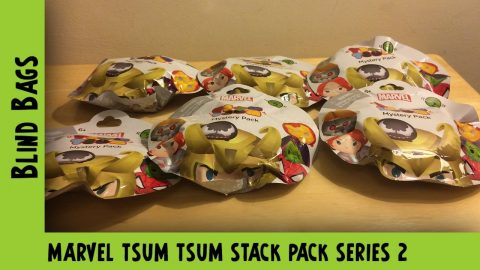 Marvel Tsum Tsum Stack Pack Blind Bag Opening  #1 | Adults Like Toys Too