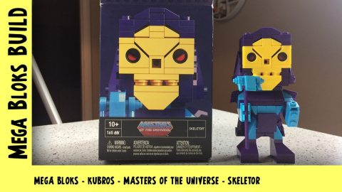 Mega Bloks Kubros: Masters of the Universe - Skeletor | Mega Bloks Build | Adults Like Toys Too