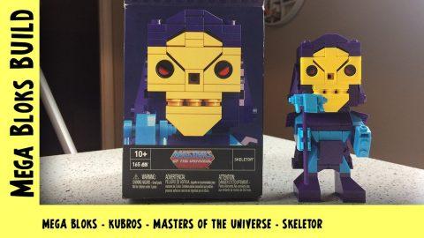 Mega Bloks Kubros: Masters of the Universe - Skeletor | Mega Bloks Build | Adults Like Toys Too