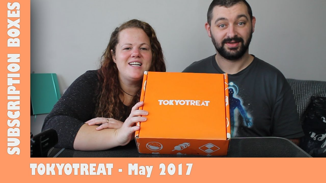 May 2017 TokyoTreat UNBOXING | Paddy Needs Snacks | Adults Like Toys Too