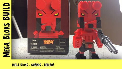 Mega Bloks Kubros: Wave 2: Hellboy | Mega Bloks Build | Adults Like Toys Too