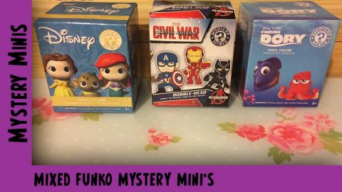 Mixed Funko Mystery Mini Unboxing  | Adults Like Toys Too