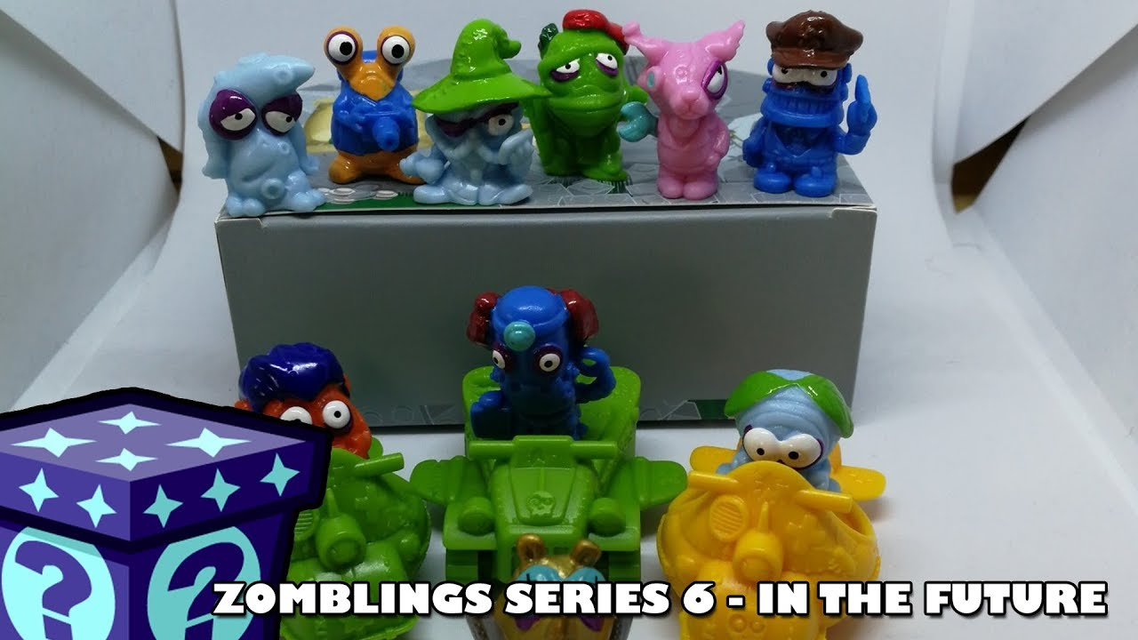 More Zomlings in the Future!! | Adults Like Toys Too