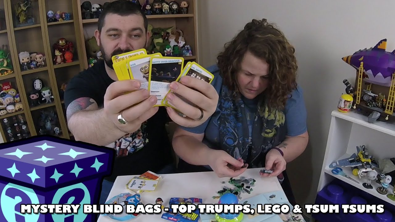 Minion Top Trumps, Lego Ninjago & Tsum Tsums  - Mystery Blind Bags #30 | Adults Like Toys Too