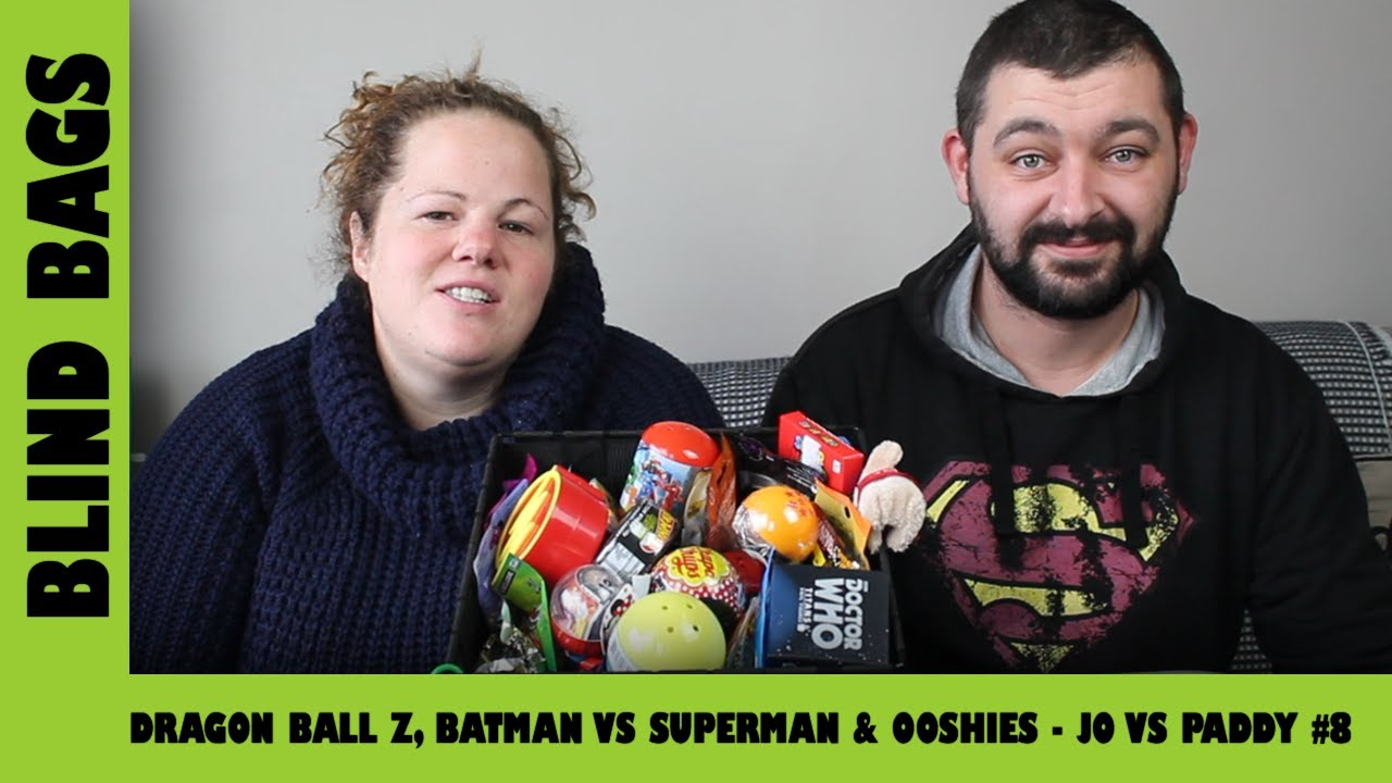 Mystery Blind Bags #8 - Dragonball Z vs Batman  | Adults Like Toys Too