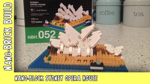 Nano-Block Sydney Opera House | Nano-Brick Build | | Adults Like Toys Too
