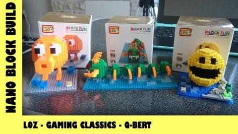 BootLego: LOZ Classic Gaming Characters - Qbert 🎮 | Nano-Brick Build | Adults Like Toys Too