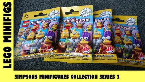 Lego Simpsons MiniFigures Collection Series 2 Blind Bag Opening #1 | Adults Like Toys Too
