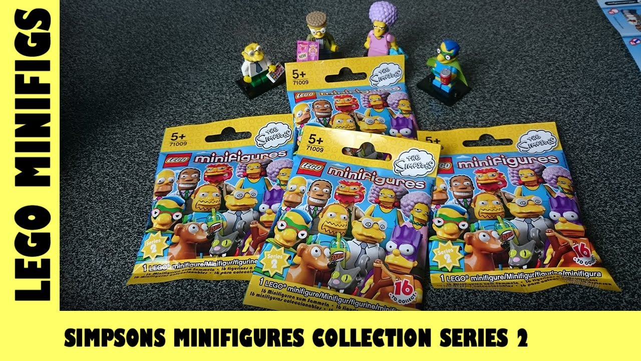 Lego Simpsons MiniFigures Collection Series 2 Blind Bag Opening #2 | Adults Like Toys Too