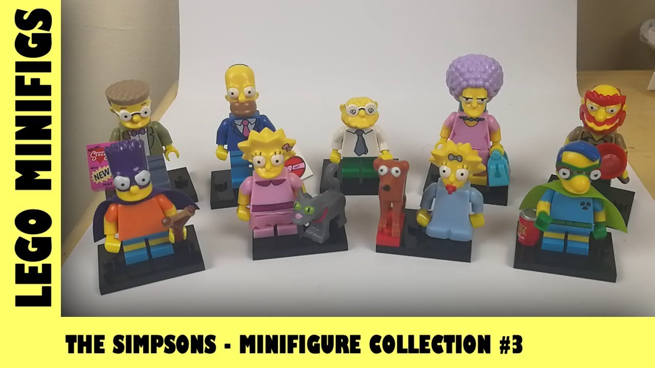 Lego Simpsons MiniFigures Collection Series 2 Blind Bag Opening #3 | Adults Like Toys Too