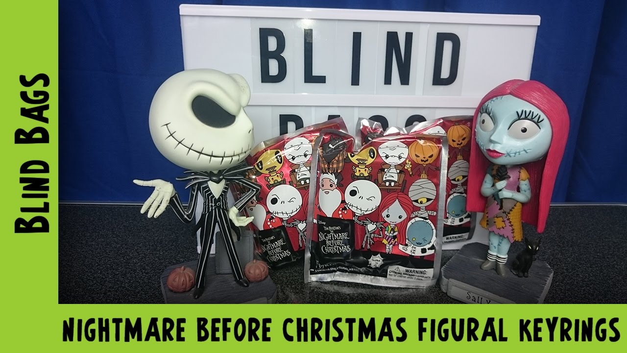 Nightmare Before Christmas Figural Keyrings | Adults Like Toys Too