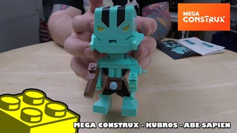 Mega Construx Kubros: Hellboy - Abe Sapien | Mega Bloks Build | Adults Like Toys Too