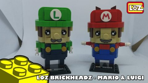 Bootlego: LOZ -  Super Mario Brothers Brickheadz (Mario & Luigi) | Adults Like Toys Too