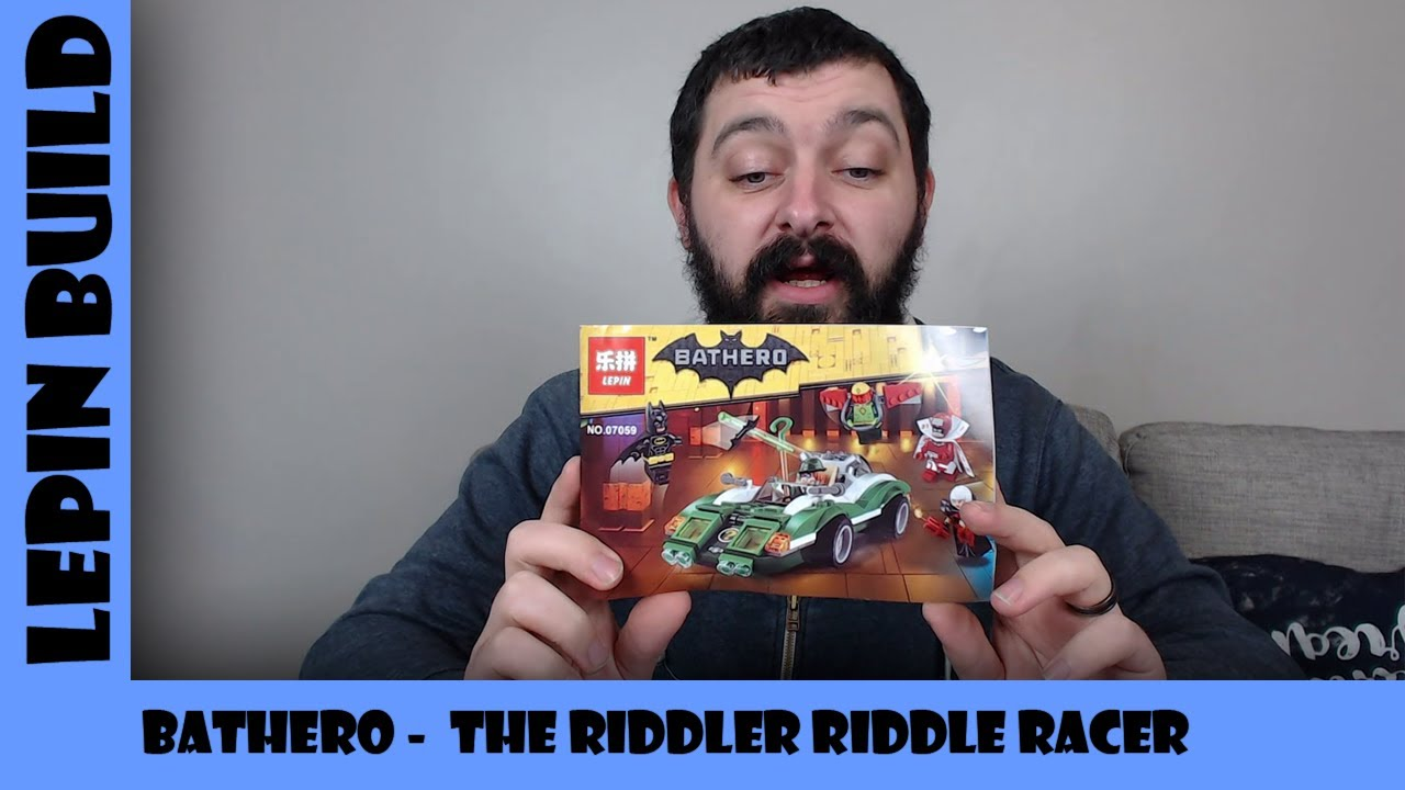 BootLego: Lepin Bathero The Riddler's Riddle Racer ❓ | Lepin Build | Adults Like Toys Too