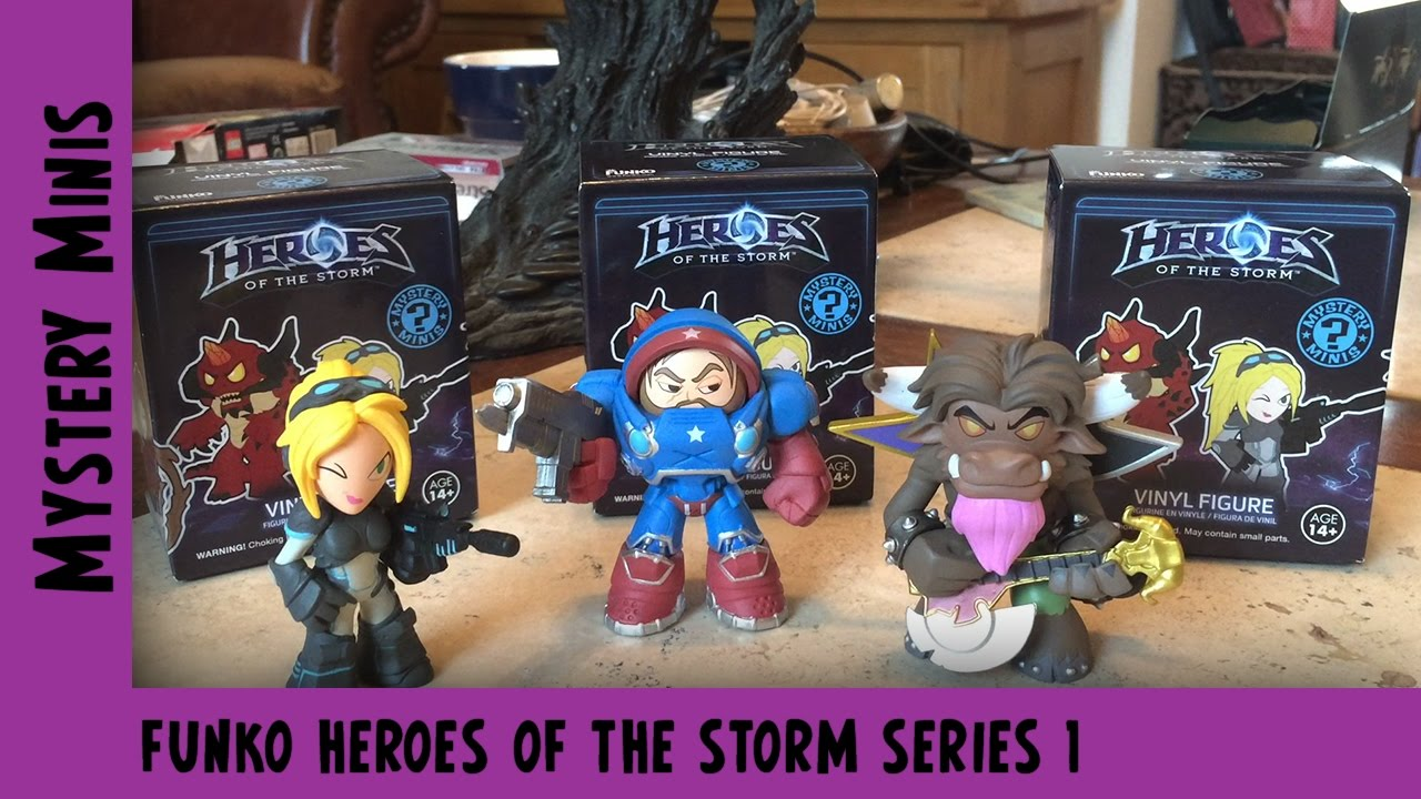 Blizzard Heroes of the Storm Series 1 Funko Mystery Mini Unboxing | Adults Like Toys Too