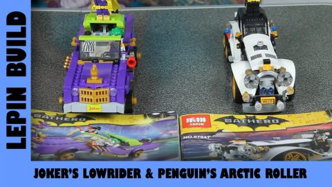 BootLego: Lepin Joker's Lowrider & Penguin's Arctic Roller | Lepin Build | Adults Like Toys Too