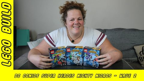 DC Comics Super Heroes Might Micros - Wave 2 | Lego Build | Adults Like Toys Too