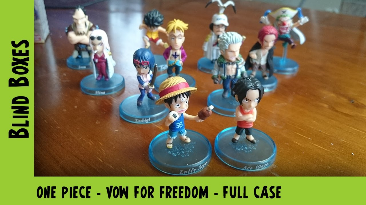 One Piece - Vow For Freedom - Full Case Unboxing | Adults Like Toys Too