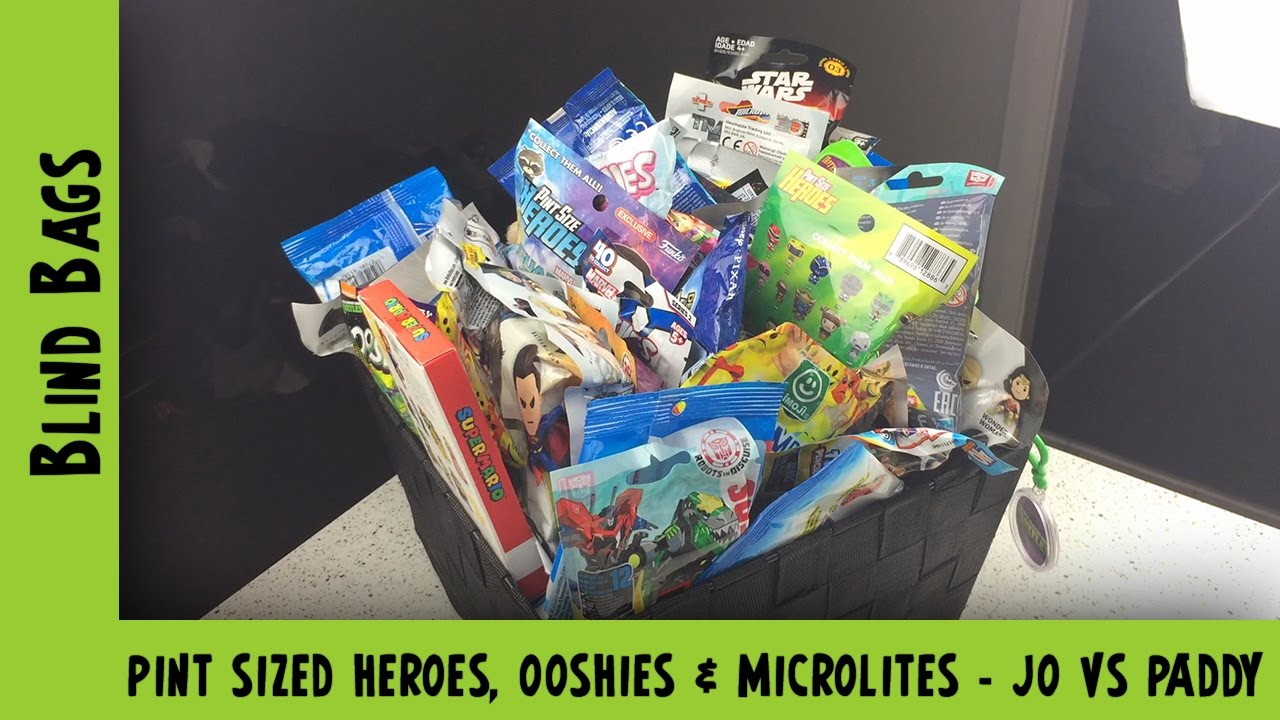 Mixed Toy Story, Pint Sized Heroes, Emojis & DC Blind Bag Opening   Adults Like Toys Too