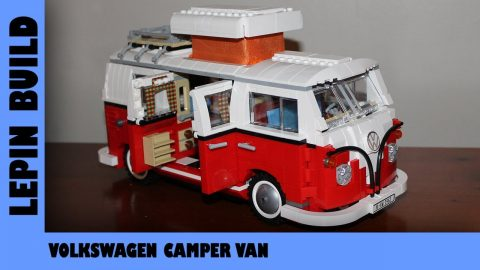 BootLego: Lepin Volkswagen T1 Camper Van | Lepin Build | Adults Like Toys Too