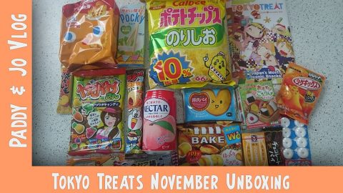 November 2016 TokyoTreat UNBOXING | Apple Pie Crisps & Whistling Polo's! | Vlog