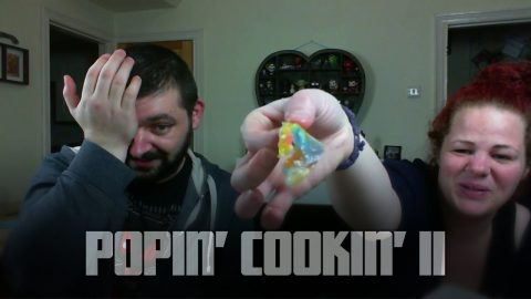 Popin' Cookin' Rainbow Snot Candy | Vlog
