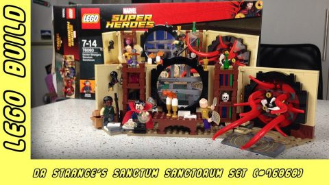 Marvel Super Heroes - Dr Strange's Sanctum Sanctorum | Lego Build | Adults Like Toys Too