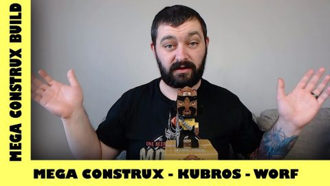 Mega Bloks Kubros: Star Trek: TNG - Commander Worf | Mega Bloks Build | Adults Like Toys Too