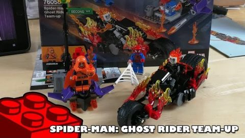 Spider-Man Ghost Rider Team Up | Lego Build | Adults Like Toys Too