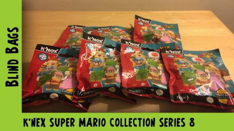 K'nex Super Mario Collection Series 8 Blind Bag Opening | Adults Like Toys Too