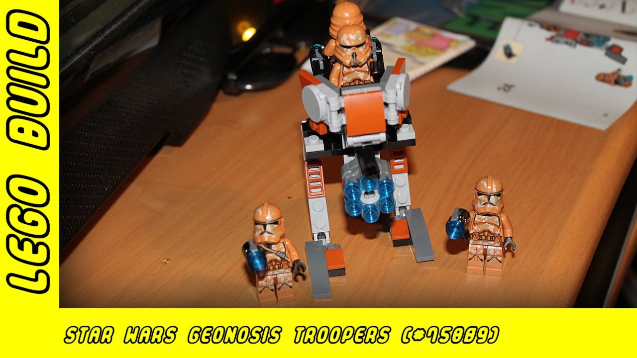 Lego Star Wars Geonosis Troopers Build (#75089) | Lego Build | Adults Like Toys Too