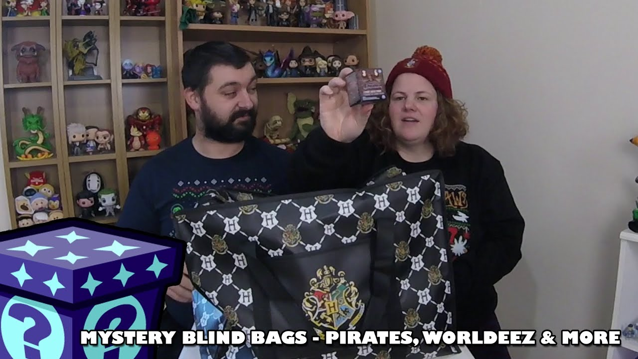 Pirates of the Caribbean, Worldeez & More - Mystery Blind Bags #33 | Adults Like Toys Too
