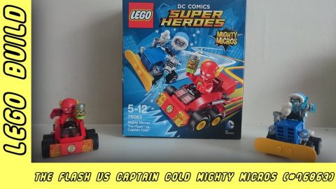 The Flash vs Captain Cold | Lego Build | Adults Like Toys Too