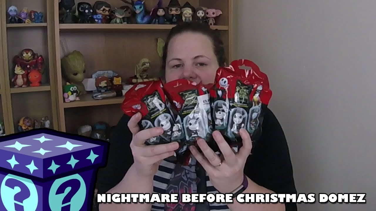 The Nightmare Before Christmas Domez Unboxing | Adults Like Toys Too