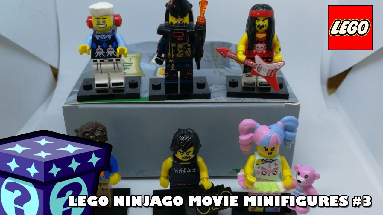 The Ninjago Movie - Minifigures Collection #3 | Adults Like Toys Too