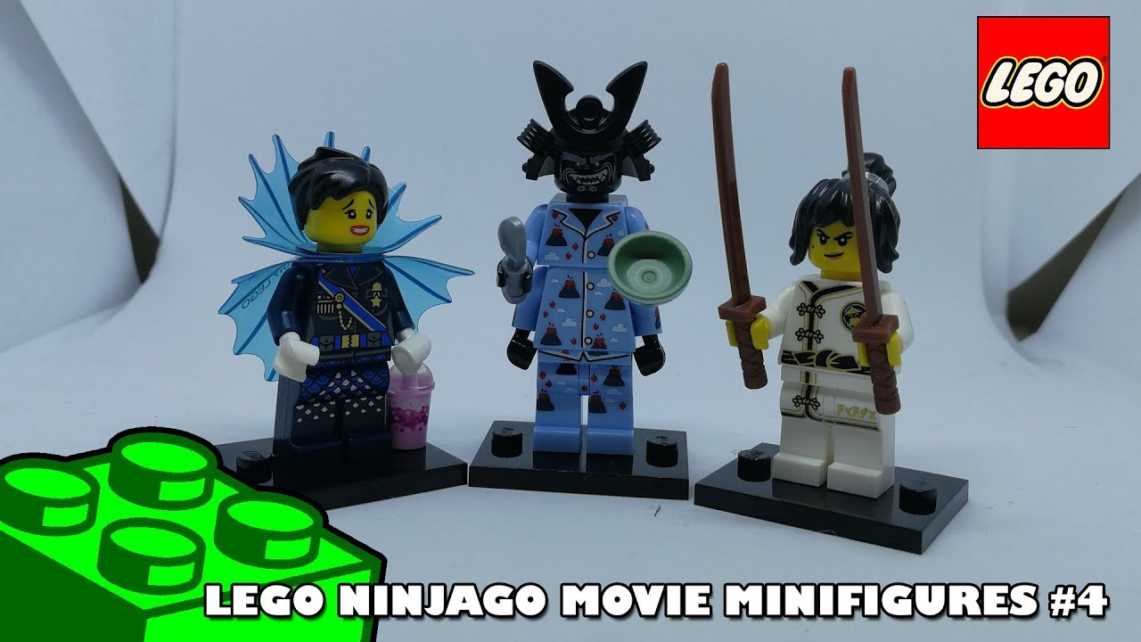 The Ninjago Movie - Minifigures Collection #4 | Adults Like Toys Too