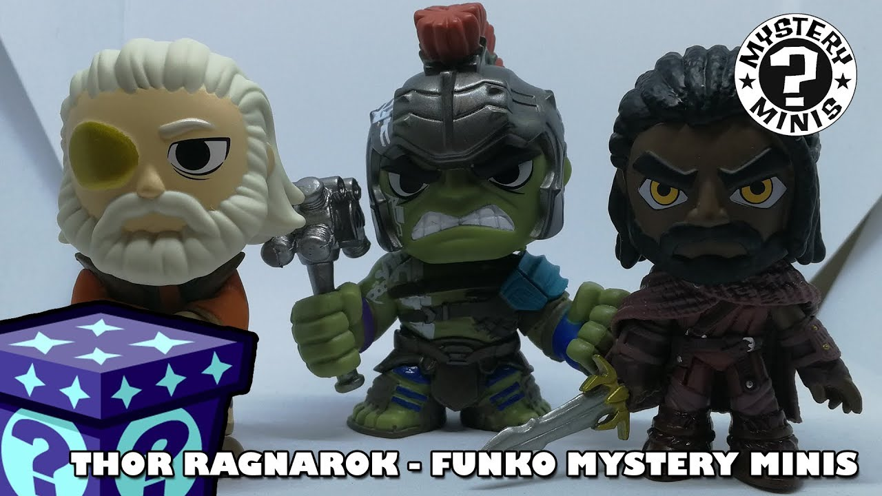 Thor Ragnarok Funko Mystery Minis | Adults Like Toys Too