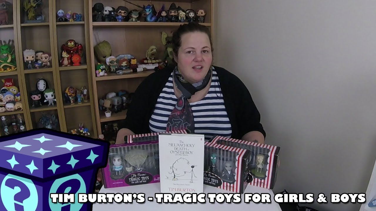 Tim Burton's - Tragic Toys for Girls and Boys | Adults Like Toys Too