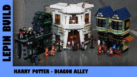 BootLego: Lepin Harry Potter Diagon Alley | Lepin Build |  Adults Like Toys Too