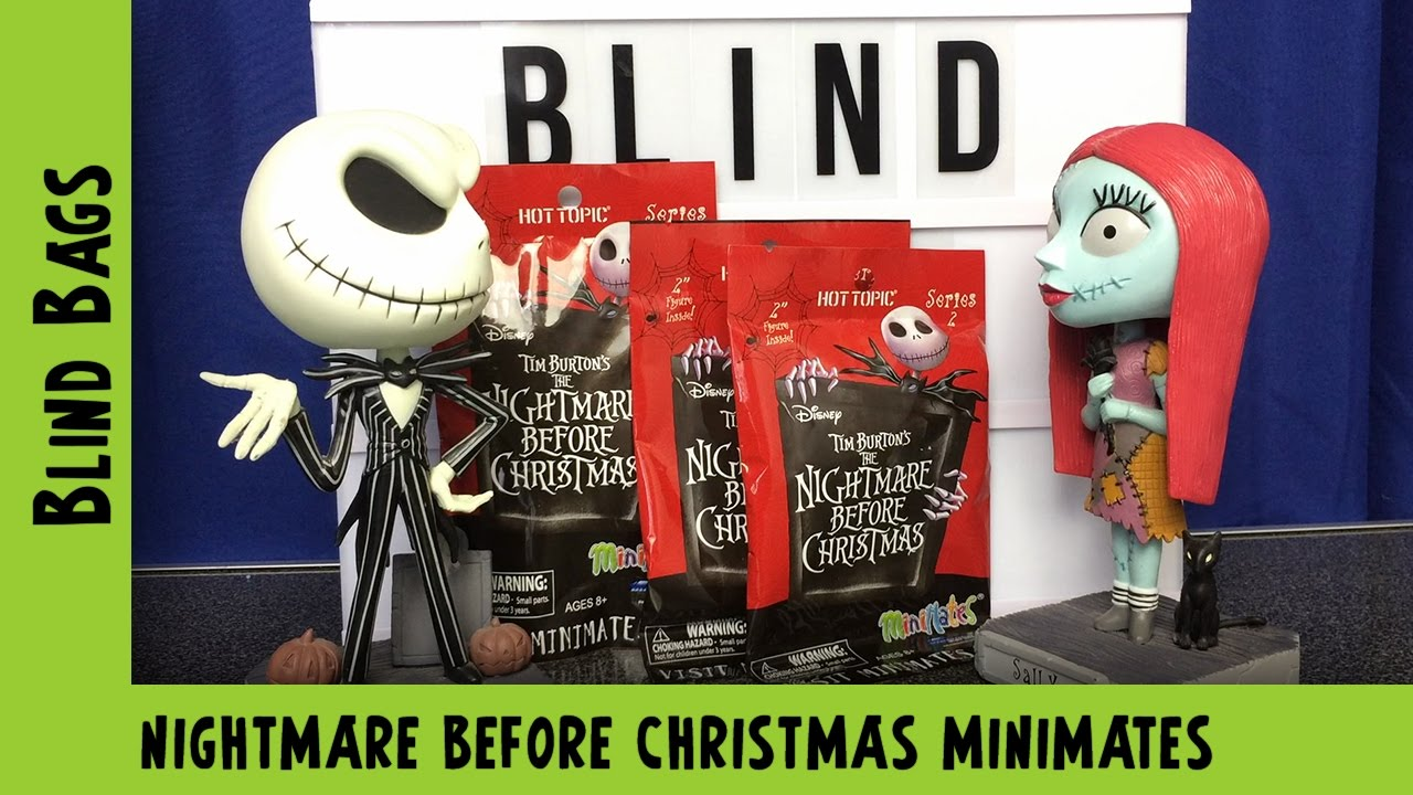 Nightmare Before Christmas Minimates Blindbag Opening | Adults Like Toys Too