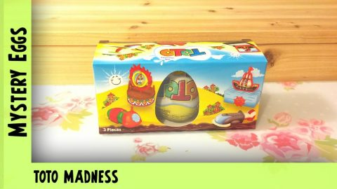Toto Madness  - chocolate surprise egg opening| Adults Like Toys Too