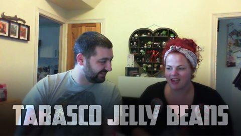 Trying Tabasco Jelly Beans | Vlog
