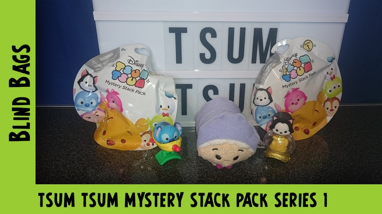 Tsum Tsum Mystery Stack Pack Series 1 Opening #1 | Adults Like Toys Too