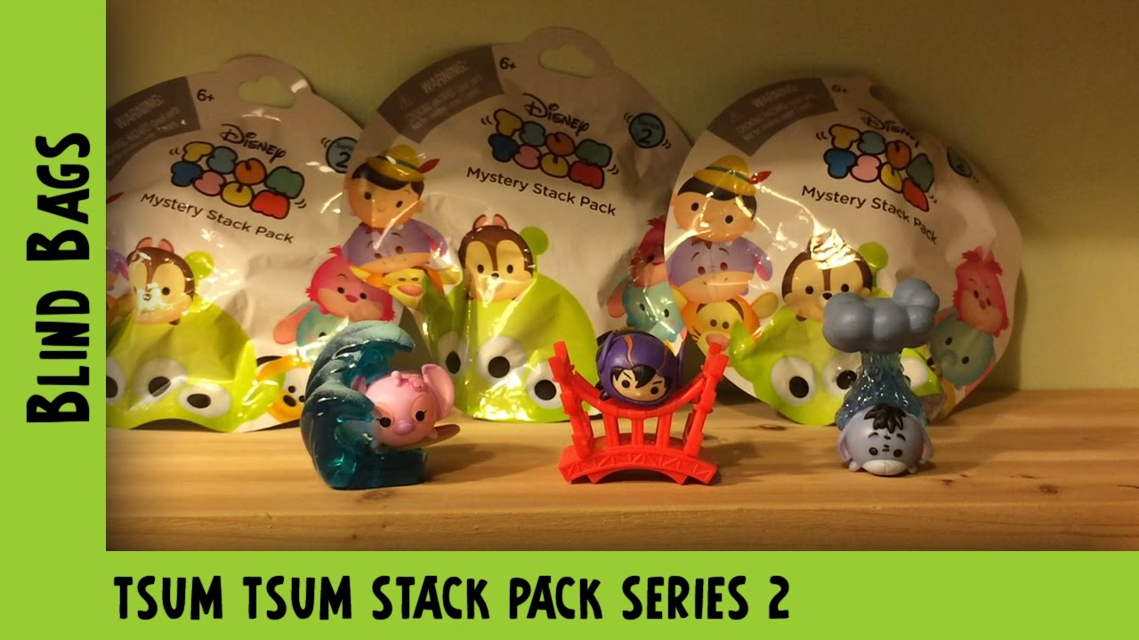Tsum Tsum Mystery Stack Pack Series 2 Opening #2 | Adults Like Toys Too
