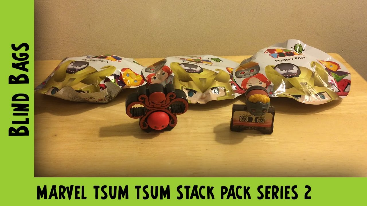 Marvel Tsum Tsum Stack Pack Series 2 Blind Bag Opening  #2 | Adults Like Toys Too